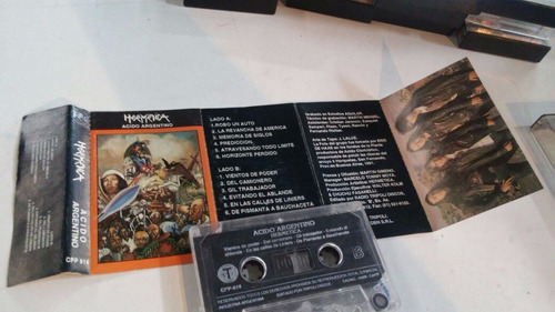 cassette hermetica - acido argentino
