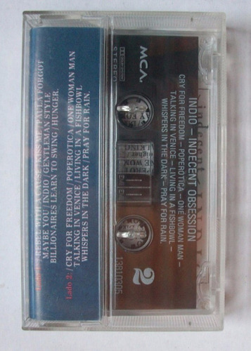 cassette  indio - indecent obsession