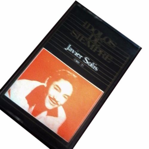 cassette javier solis, grandes composiciones y canciones