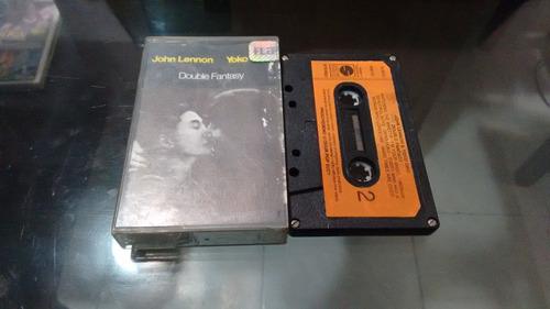 cassette john lennon and yoko ono double fantasy en cassette