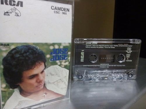 cassette jose jose exitos la cruz de olvido edicion 1978 rca