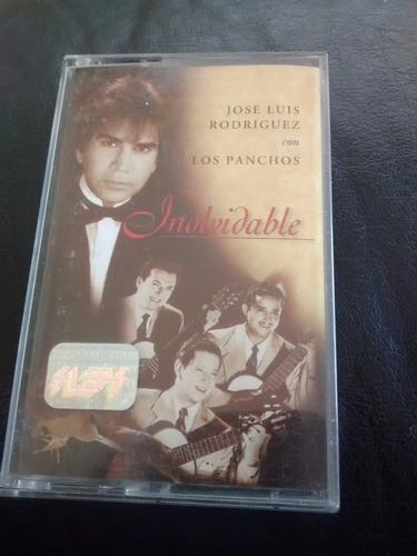 cassette jose luis rodriguez - inolvidabble (c-177