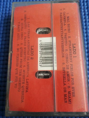 cassette los fabulosos cadillac