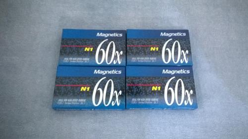 cassette magnetics de 60
