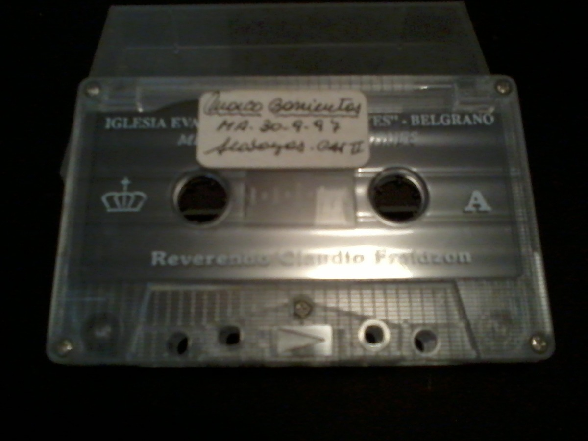 Cassette Marco Barrientos En Vivo Ig. Rey De Reyes - $ 59,00 en ...