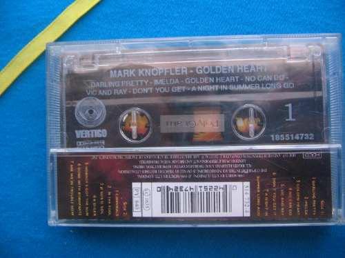 cassette mark knopeler- golden heart