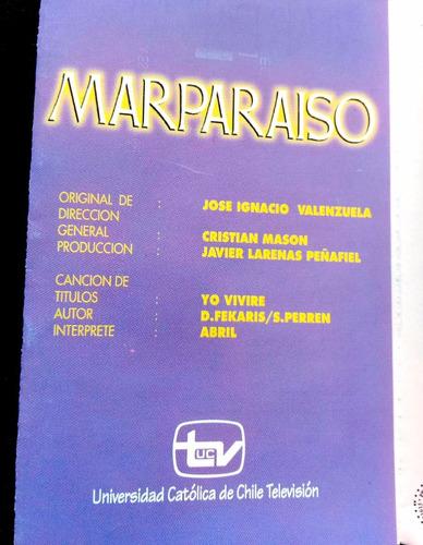 cassette marparaiso warner music chile 1998