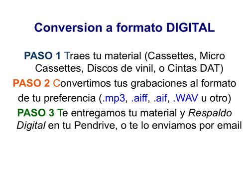 cassette micro cassette disco y cintas dat a cd y digital