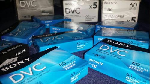 cassette minidv para vídeo cámara