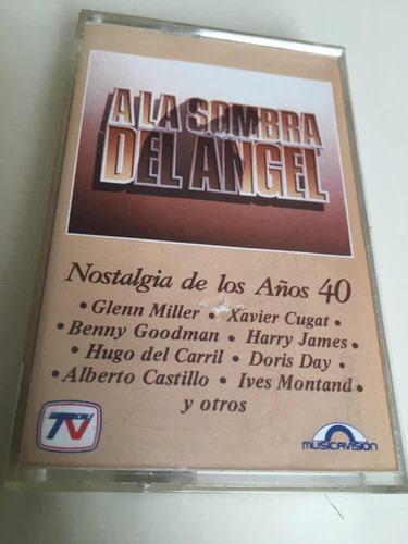 cassette música a la sombra del ángel tvn