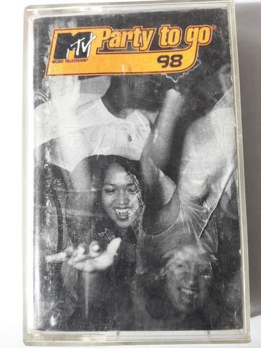cassette musical original mtv party to go 98