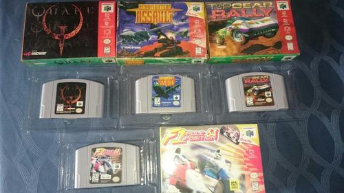 cassette nintendo 64 genericos + caja n64 excelente juego