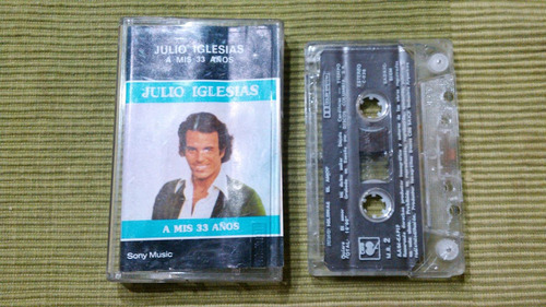 cassette original de coleccion de julio iglesias