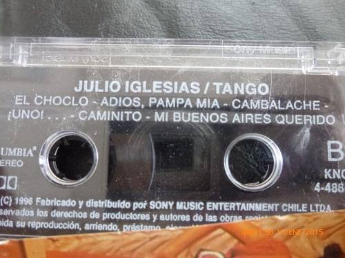 cassette original de julio iglesias tango (c-395