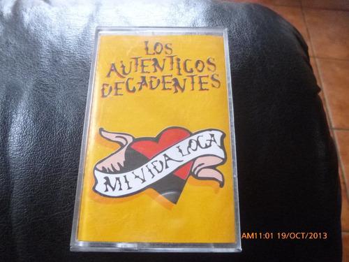 cassette original de los autenticos decadentes mi vida(238