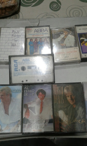cassette originales lote por 24 todo a $450