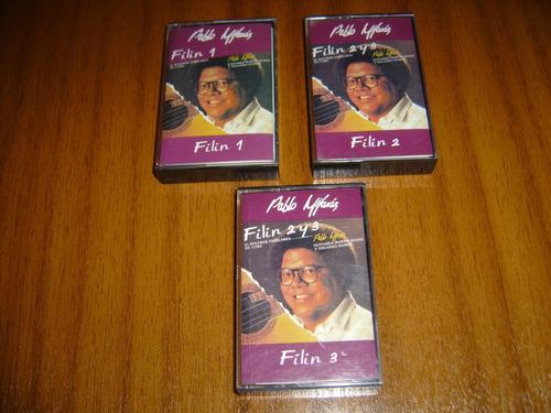 cassette pablo milanes / filin (volumen 1, 2 y 3)
