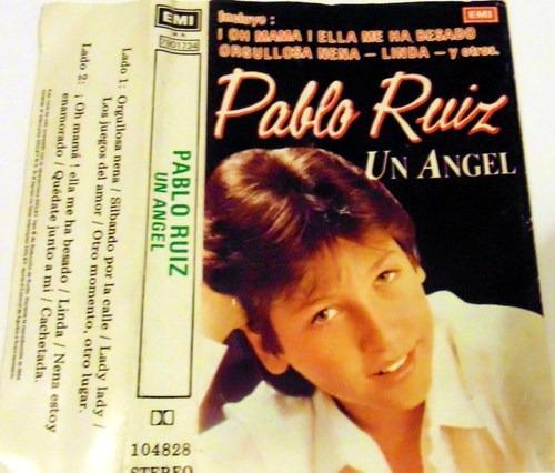 cassette pablo ruiz un ángel