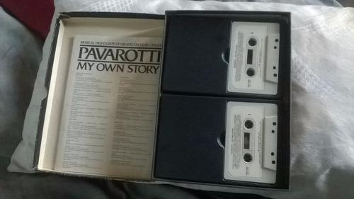 cassette pavarotti my own story