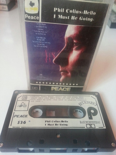 cassette phil colins / hello i must be going