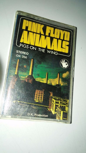 cassette pink floyd animals - pigs on the wing