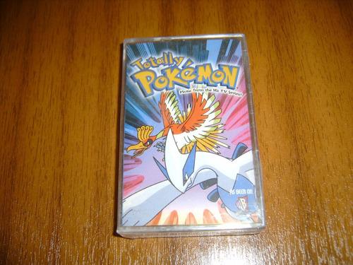 cassette pokemon / totally pokemon (nuevo y sellado)