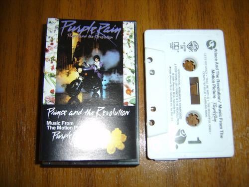 cassette prince / purple rain (made in usa) 1984