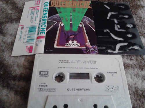 cassette queensryche - the warning 1984 emi rock metal