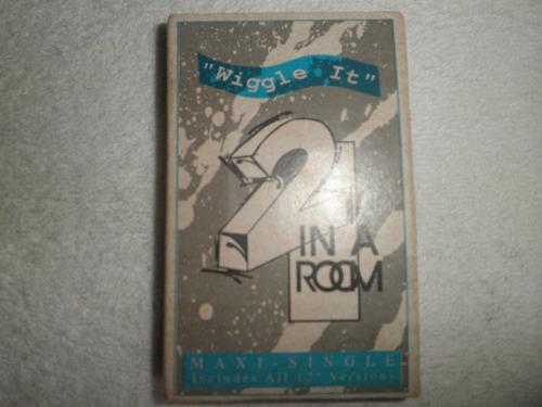 cassette remix importado de 2 in a room - wiggle it (1990)