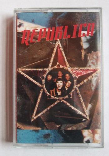 cassette republica - republica