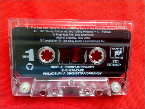 cassette    rimsky- korsakov    scheherazade y otros temas