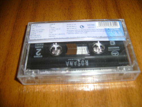 cassette rosana / rosana (nuevo y sellado)