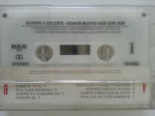 cassette sandra mihanovich & celeste carballo / somos mucho