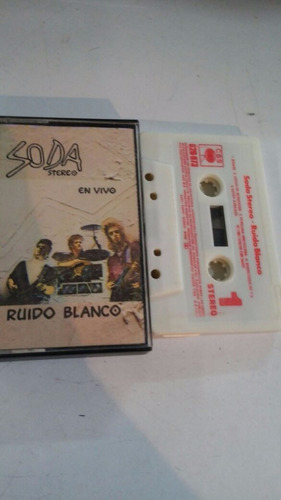 cassette soda stereo - ruido blanco