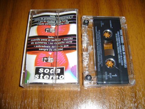 cassette soda stereo / zona de promesas (mixes 1984 - 1993)