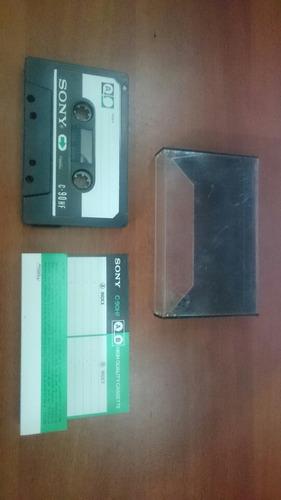 cassette sony metal original