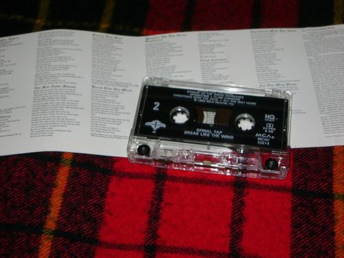 cassette spinal tap - break like the wind