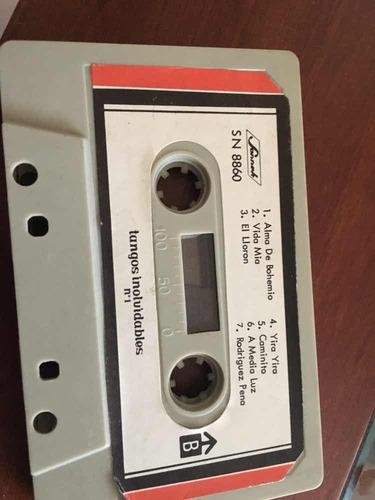 cassette tangos inolvidables