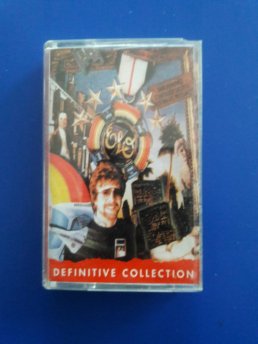 cassette tape electric light orchestra - definitive collect
