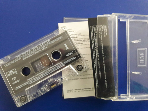 cassette tape eric clapton - the best