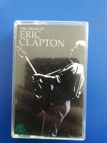 cassette tape eric clapton - the cream