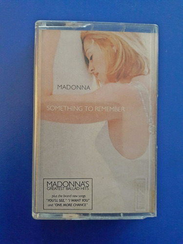 cassette tape madonna - something to remember