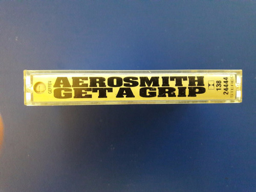 cassette tape original aerosmith - get a grip