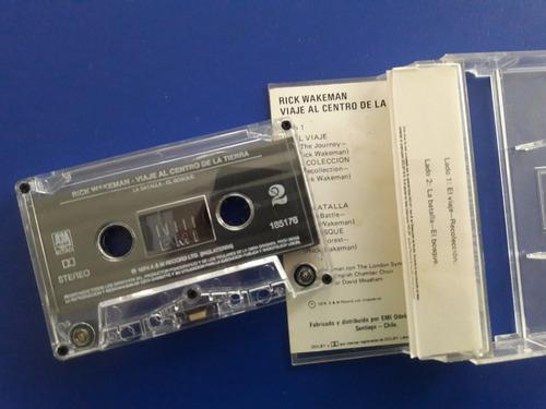 cassette tape rick wakeman - viaje al centro de la tierra
