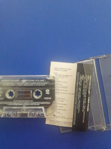 cassette tape robert palmer - addictions