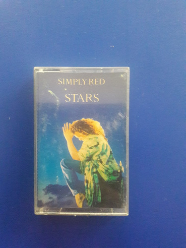 cassette tape simply red - stars