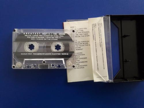 cassette tape the doors greatest hits