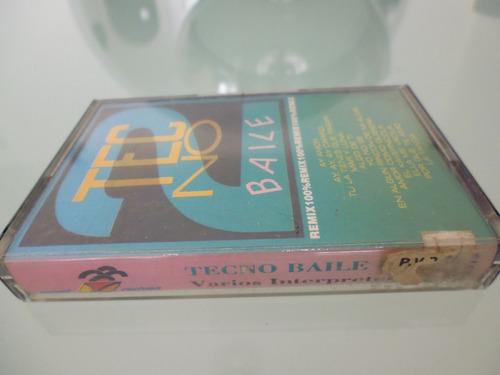cassette / tecno baile / remix 100% remix / varios artista /