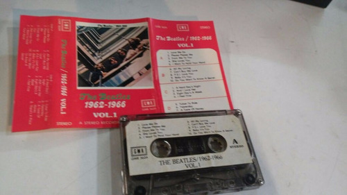 cassette the beatles 1962-1966