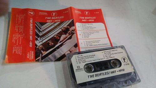 cassette the beatles / 1967-1970